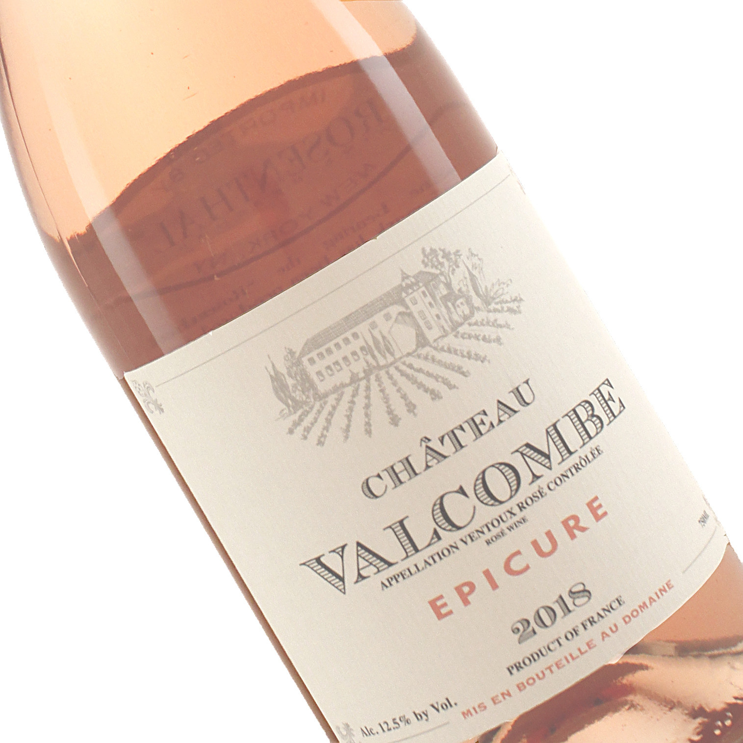 "Chateau Valcombe 2019 ""Epicure"" Rose, France"