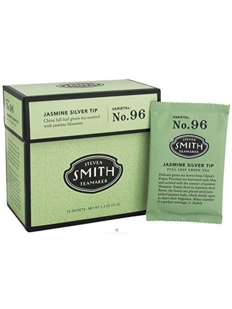 "Smith Teamaker ""Jasmine Silver Tip"" Tea Varietal: No. 96 Portland, Oregon 15 Sachets"