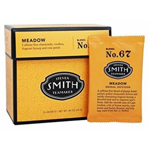 "Smith Teamaker ""Meadow"" Tea Blend: No. 67 Portland, Oregon 15 sachets"