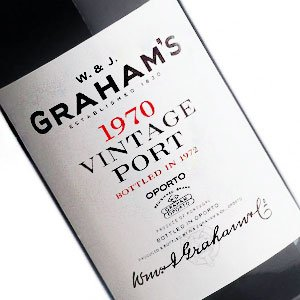 Graham's 1970 Vintage Porto, Portugal