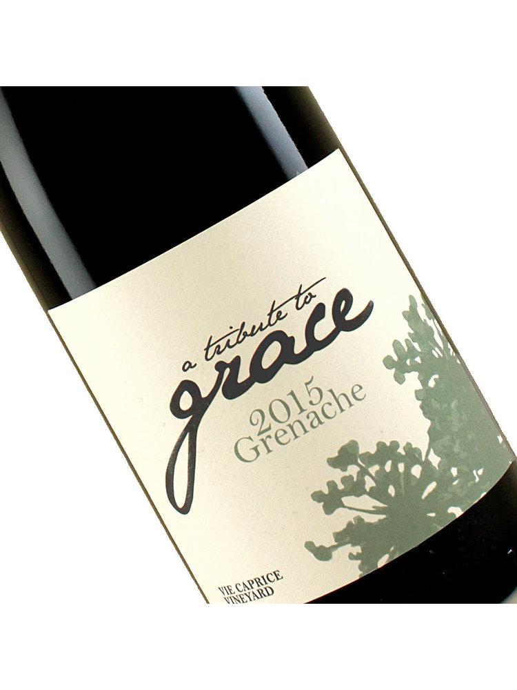 "A Tribute to Grace 2015 Grenache ""Vie Caprice"" Vineyard, Santa Barbara"