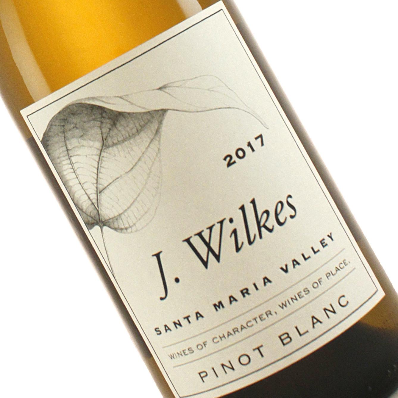J. Wilkes 2017 Pinot Blanc, Santa Maria Valley