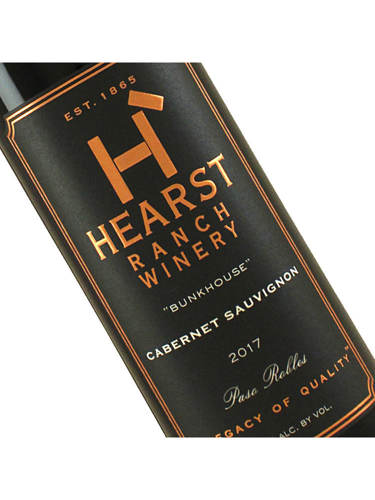 "Hearst Ranch 2017 Cabernet Sauvignon ""Bunkhouse"" Paso Robles, Half-Bottle"