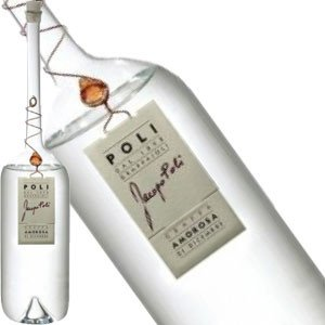 Jacopo Poli Torcolato Grappa in Murano Bottle, Italy - Half Bottle