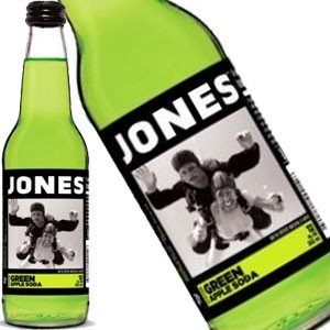 Jones Green Apple Soda