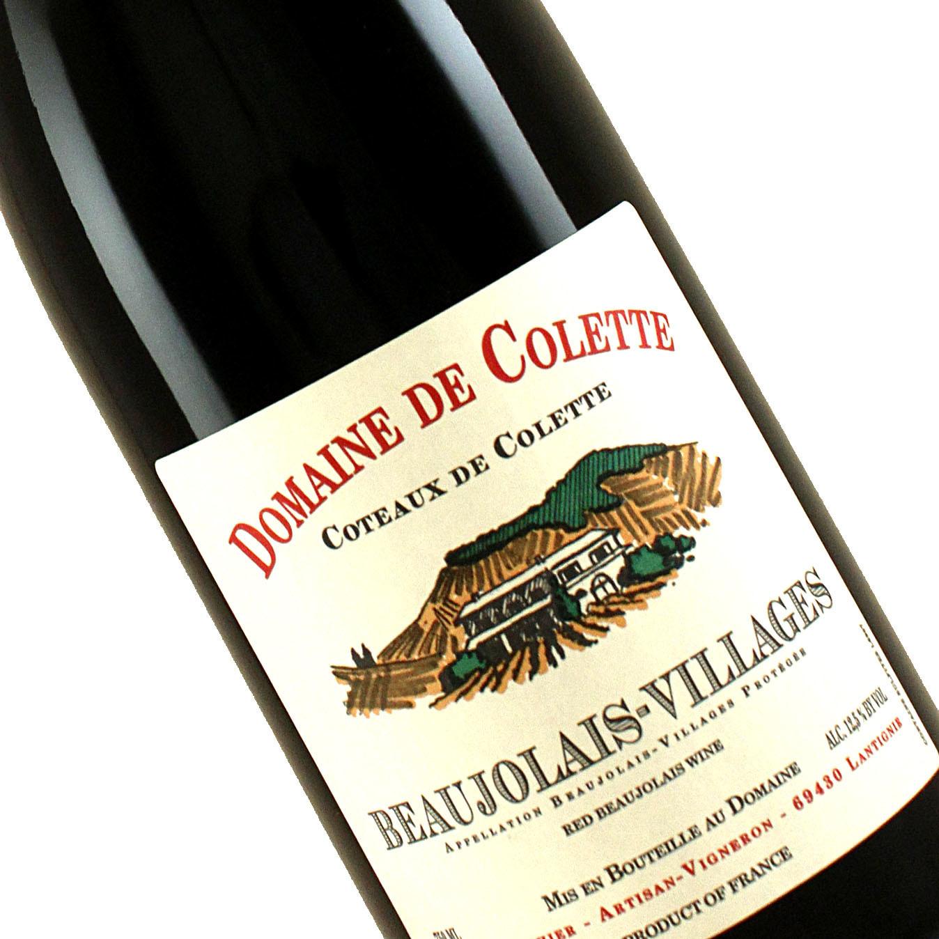 """Domaine de Colette 2018 Beaujolais-Villages """"Coteaux de Colette"""" NOVEMBER WINE OF THE MONTH!"""