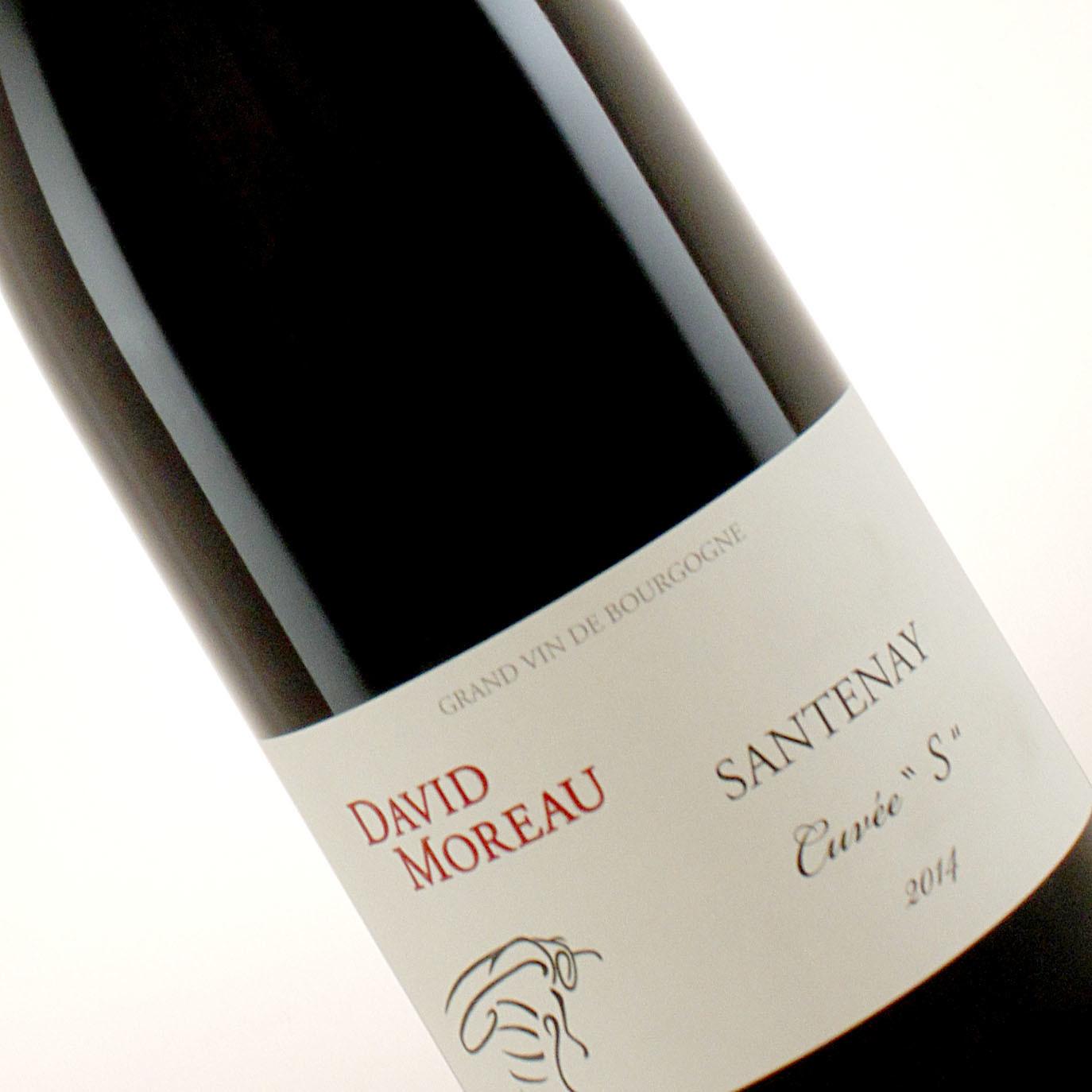 """David Moreau 2014 Santenay """"Cuvee S"""", Burgundy"""