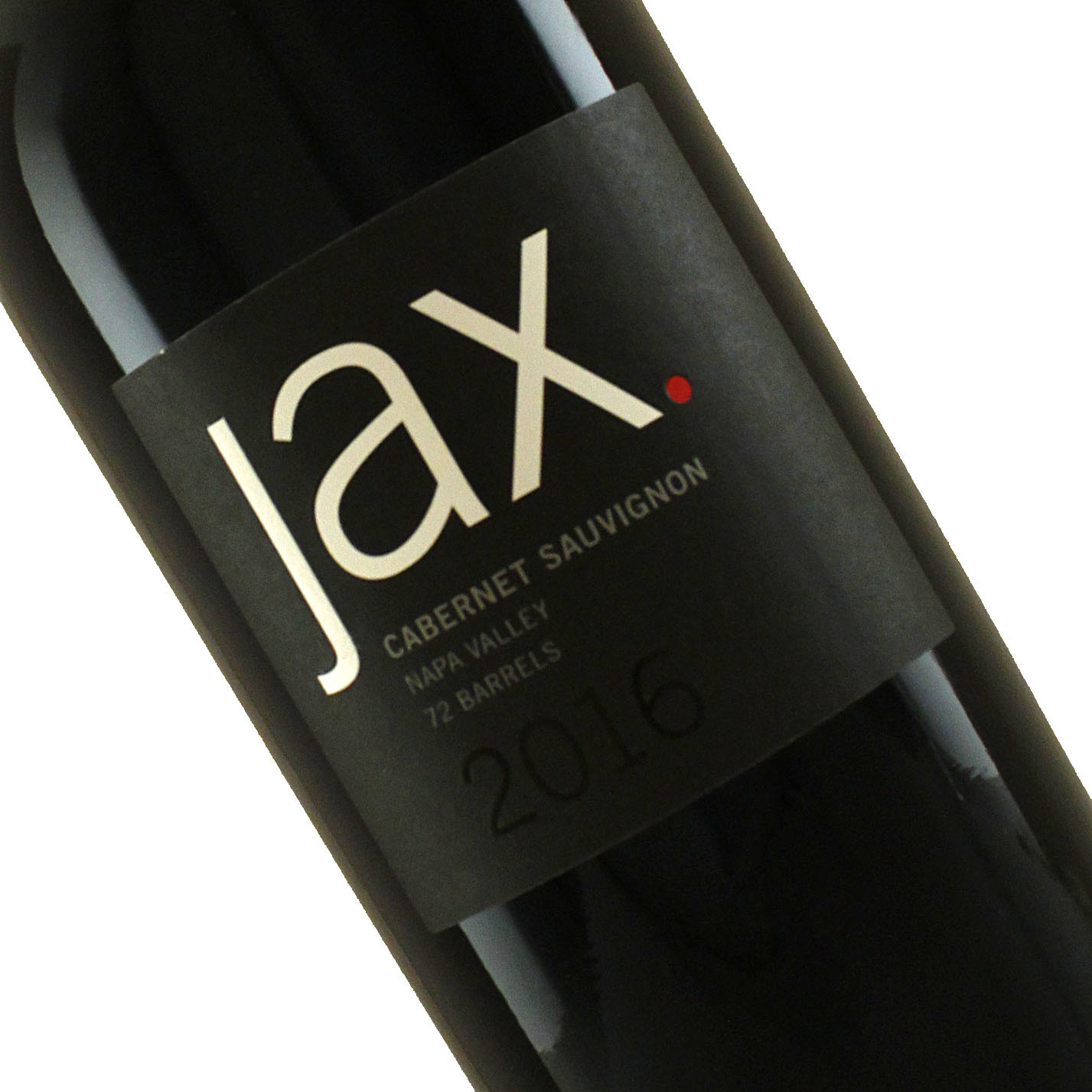 Jax Vineyards 2016 Cabernet Sauvignon, Calistoga Napa Valley