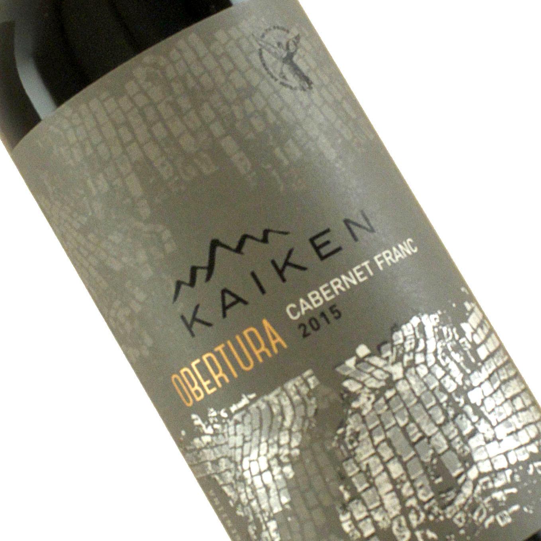 """Kaiken 2015 Cabernet Franc """"Obertura"""" Mendoza, Argentina"""