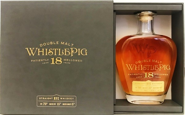 WhistlePig Double Malt Straight Rye Whiskey 18 Year