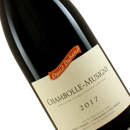 David Duband 2017 Chambolle Musigny Rouge Burgundy, France