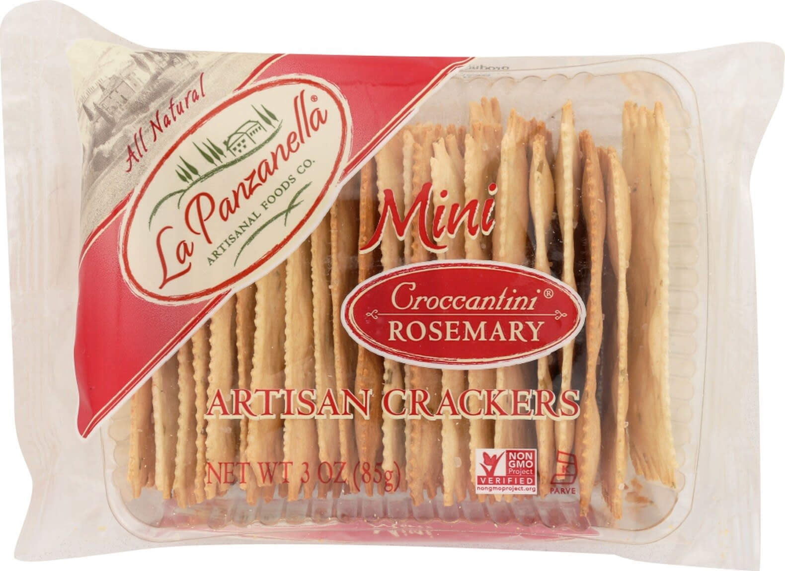 La Panzanella Rosemary Mini Crackers 3 oz