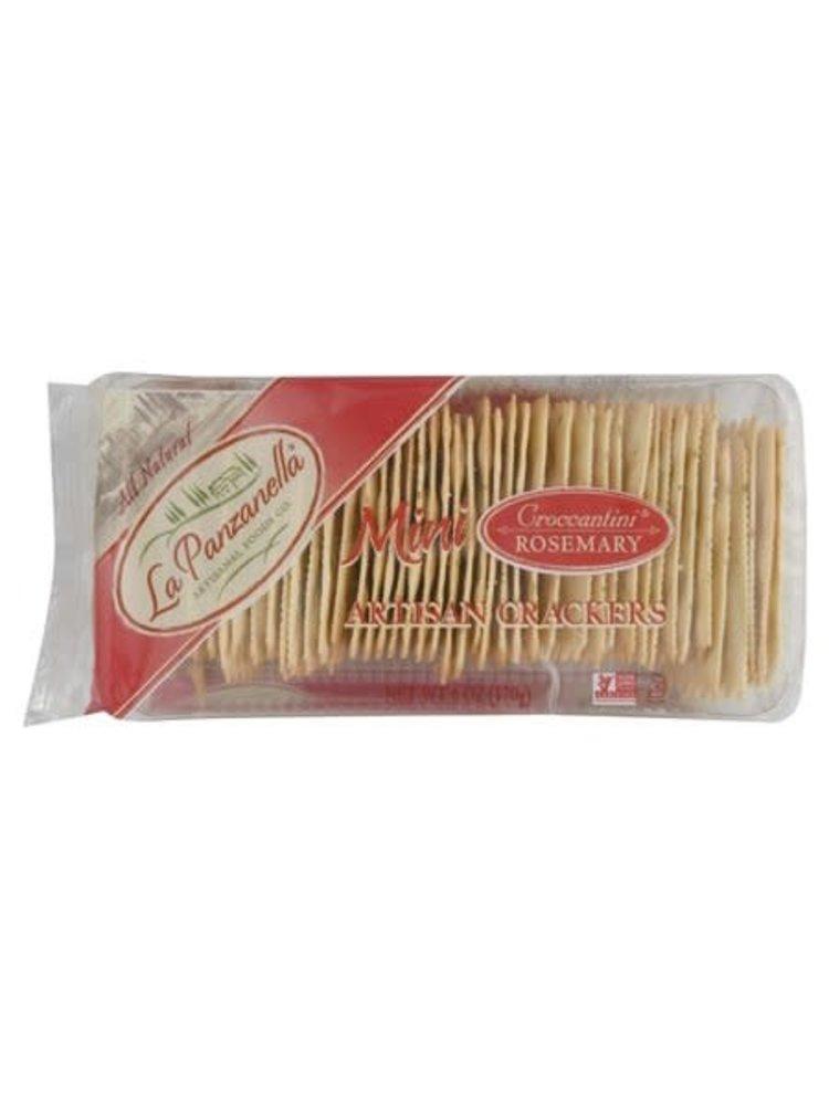 La Panzanella Rosemary Mini Cracker, 6 oz