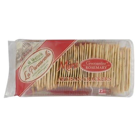 La Panzanella Mini Rosemary Cracker, 6 oz