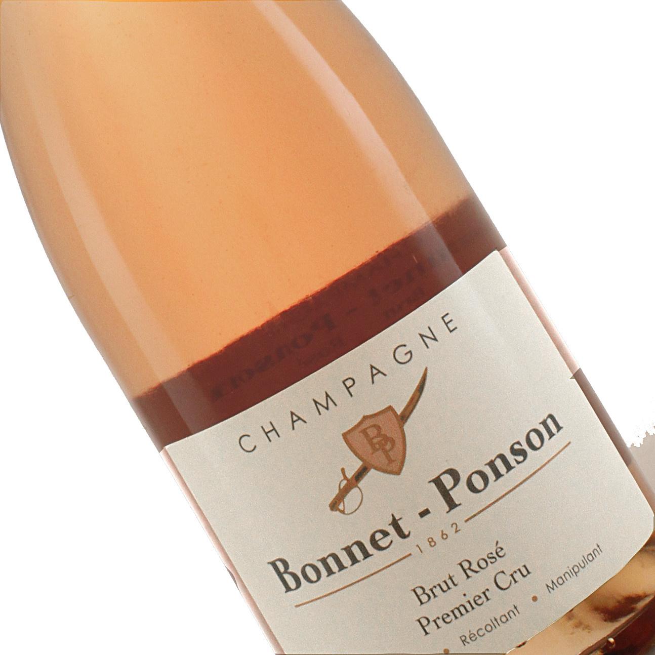 Bonnet-Ponson N.V. Brut Rose Premiere Cru, Champagne