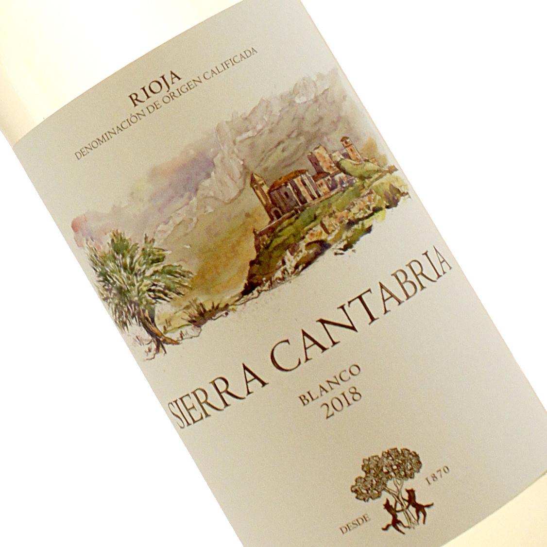 Sierra Cantabria 2018 Rioja Blanco, Spain