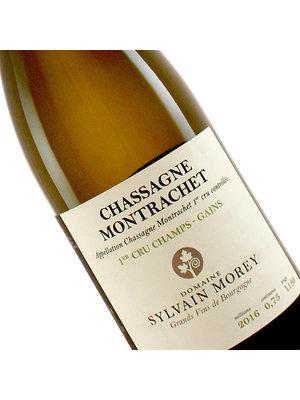 """Domaine Sylvain Morey 2016 Chassagne Montrachet 1er Cru Blanc """"Les Champs-Gains"""", Burgundy"""