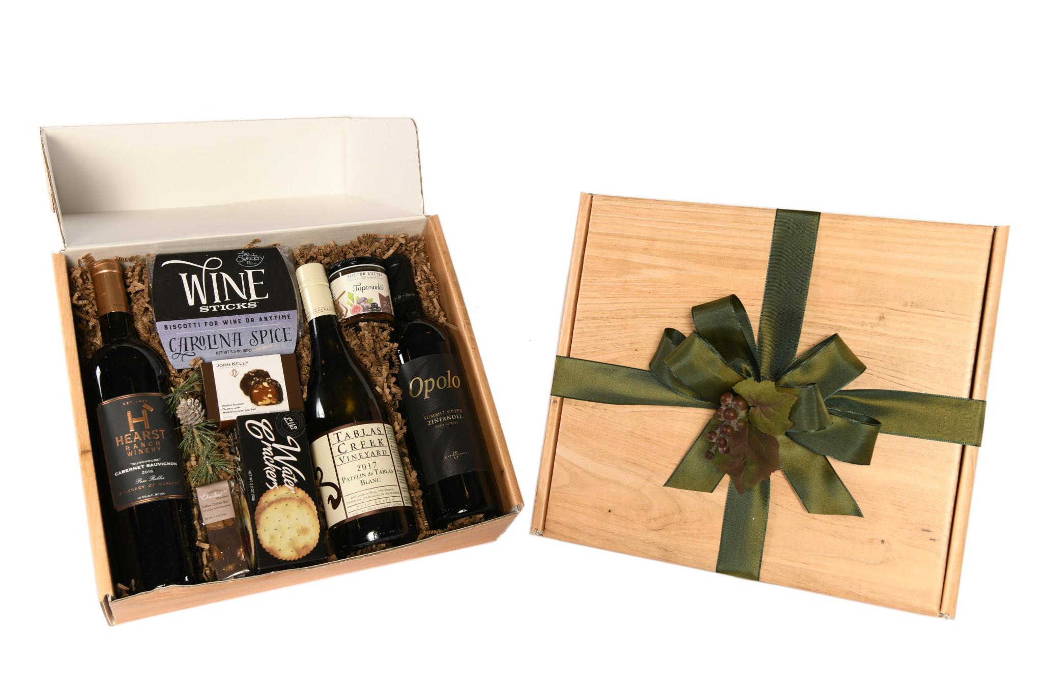 Paso Robles Trio Gift Box