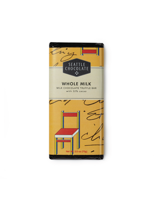 Seattle Chocolate Whole Milk Chocolate Truffle Bar 32%