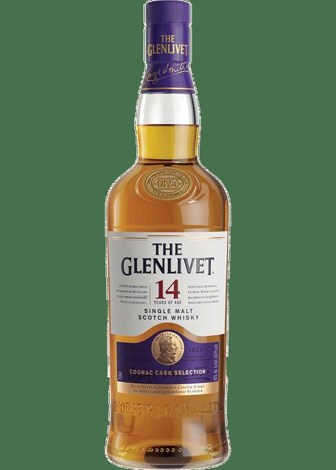 Glenlivet 14 Year Cognac Cask Selection Single Malt Scotch Whisky