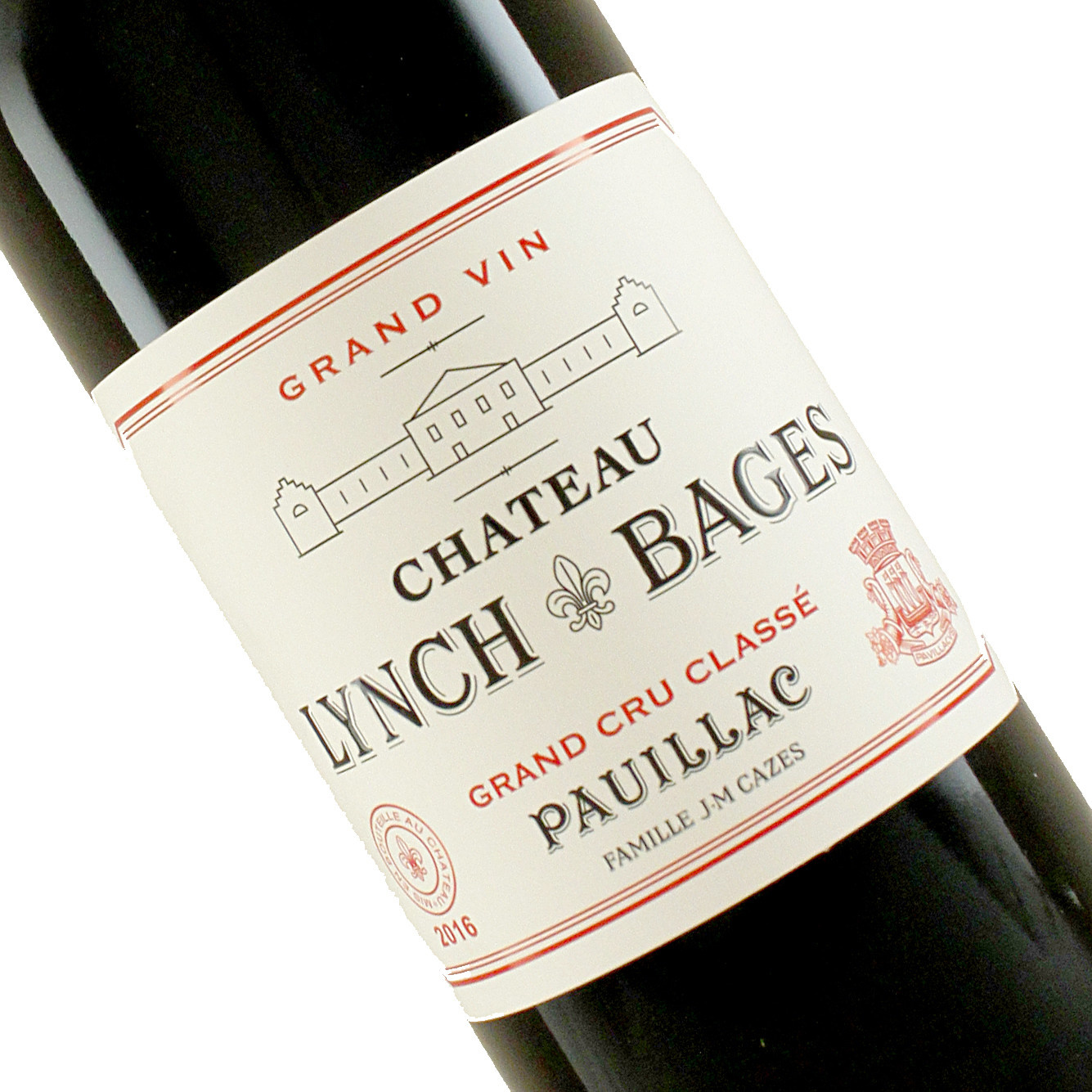 Chateau Lynch-Bages 2016 Pauillac, Bordeaux