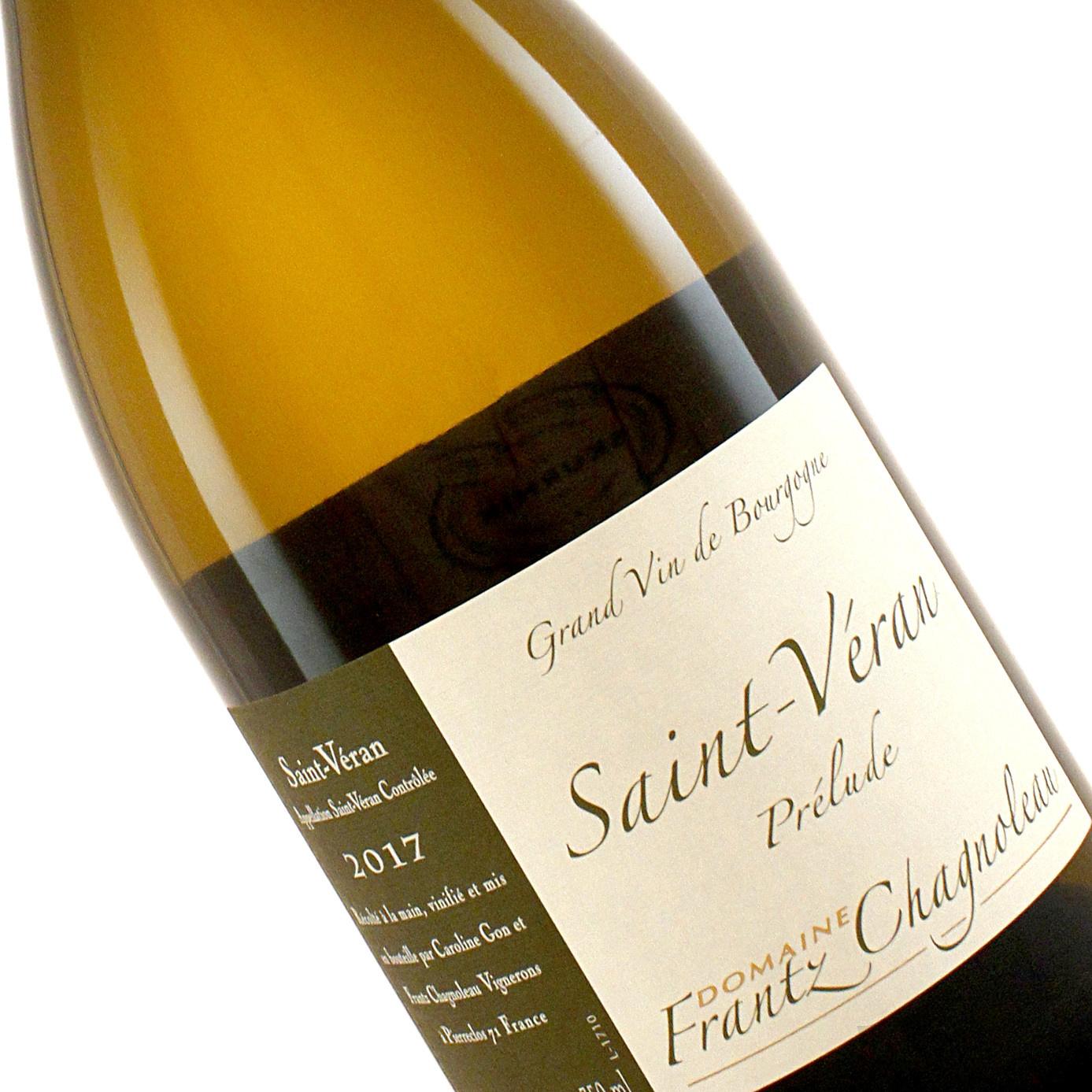 Frantz Chagnoleau 2017 Saint Veran Prelude, Burgundy