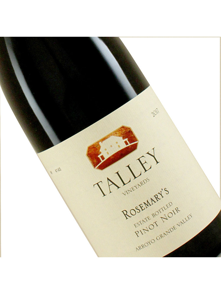 Talley 2018 Estate Pinot Noir Rosemary's Vineyard, Arroyo Grande Valley, California