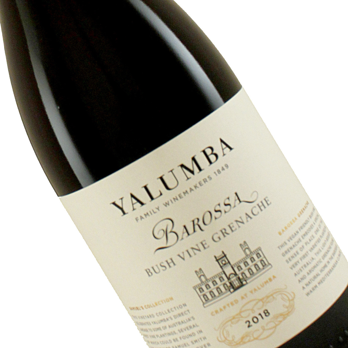 "Yalumba 2018  Bush Vine Grenache ""Samuel's Collection""Barossa Valley, Australia"
