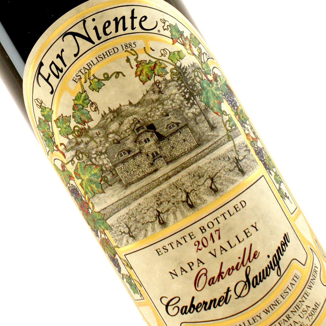 Far Niente 2017 Cabernet Sauvignon Estate Bottled, Oakville, Napa Valley
