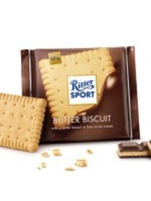Ritter Sport Butter Biscuit Chocolate Bar, Germany