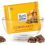 Ritter Sport Milk Chocolate Cornflakes Bar, Germany