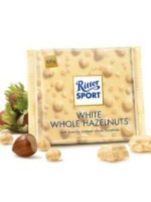 Ritter Sport Whole Hazelnut White Chocolate Bar, Germany
