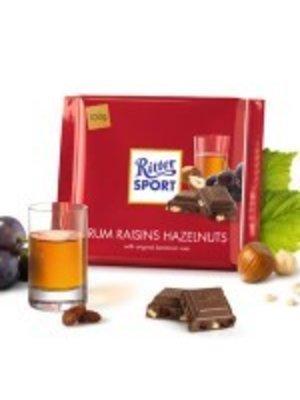 Ritter Sport Rum Raisins Hazelnut Chocolate Bar, Germany