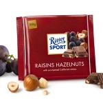 Ritter Sport Raisins & Hazelnut Chocolate Bar
