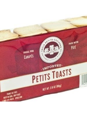 Three Little Pigs Petits Toasts, France