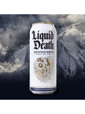 Liquid Death Austrian Mountain Water 16 oz. can
