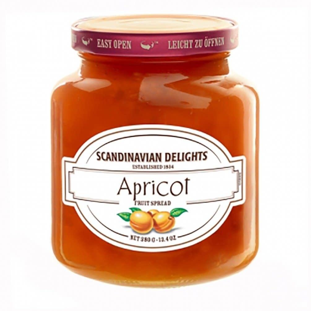 Scandinavian Delights Apricot Spread, Denmark