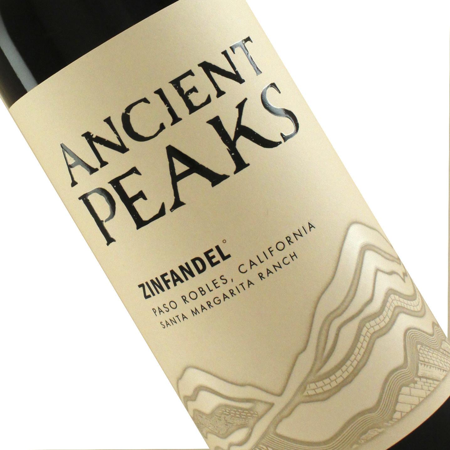 Ancient Peaks 2017 Zinfandel, Paso Robles