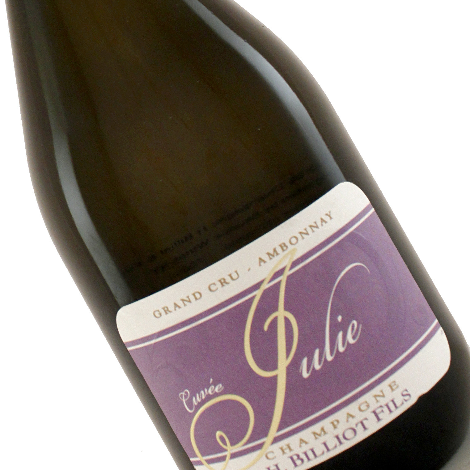 H. Billiot Fils N.V. Cuvee Julie, Champagne Grand Cru, Ambonnay