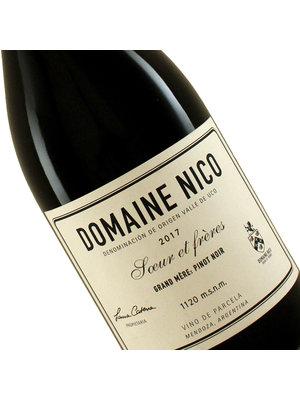 "Domaine Nico 2017 Pinot Noir ""Grand Mere"" Mendoza, Argentina"