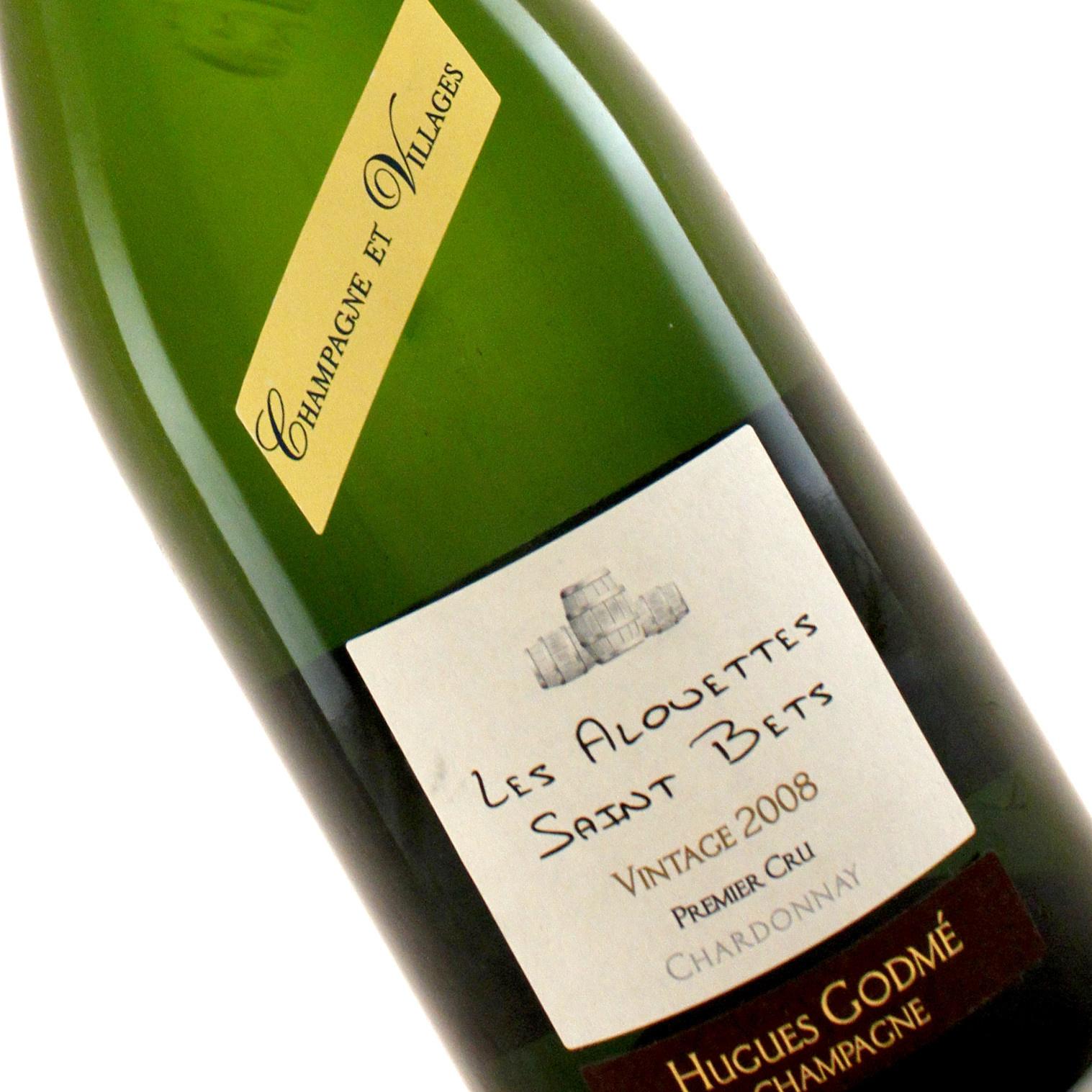 Hugues Godme 2008 Les Alouettes Saint Bets Brut Premier Cru , Champagne