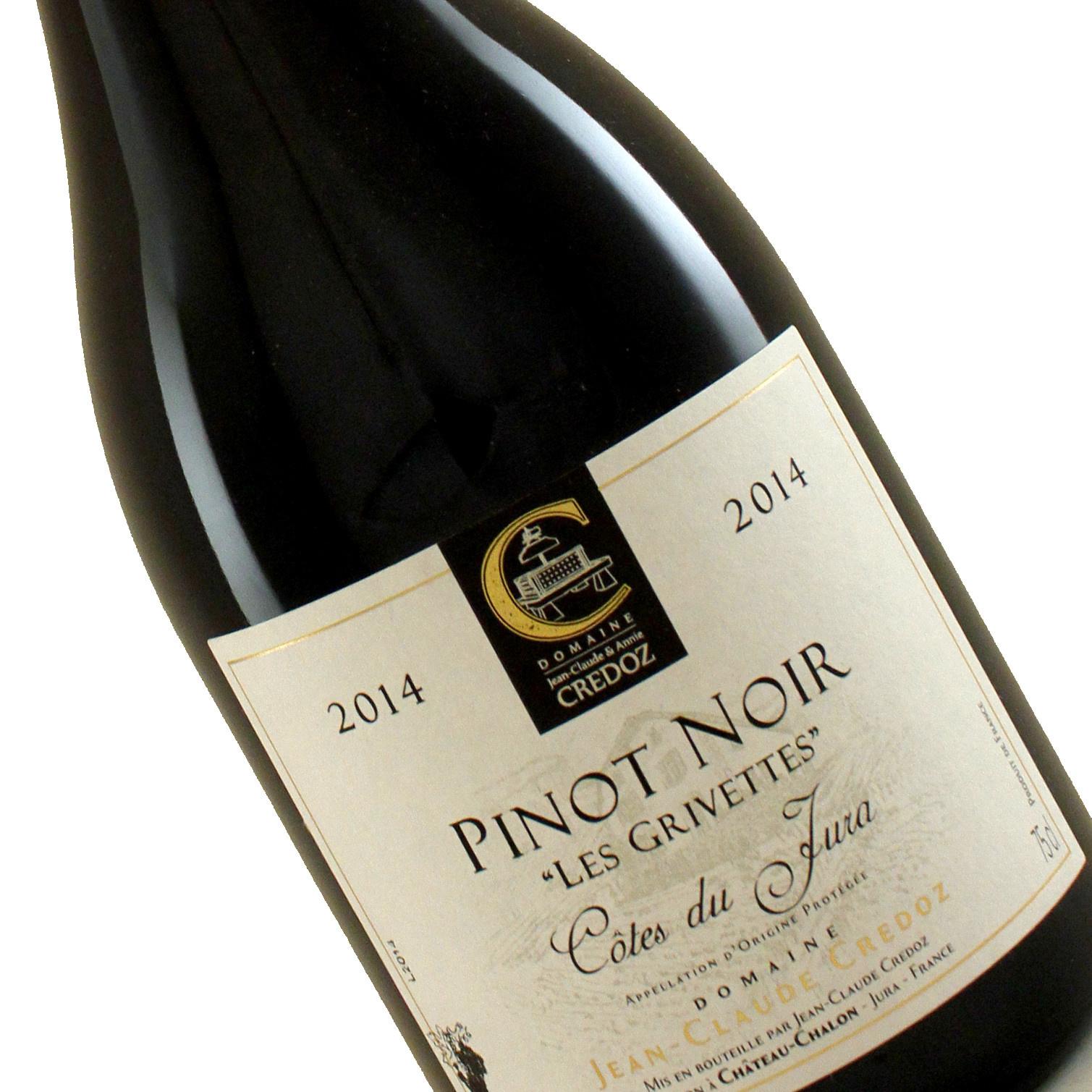 """Domaine Credoz 2014 Pinot Noir """"Les Grivettes"""" Cotes du Jura"""