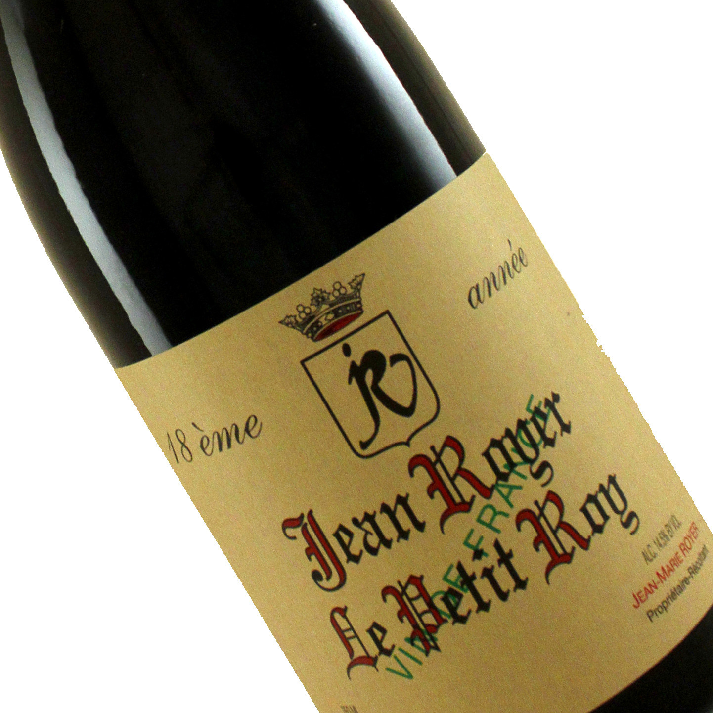 "Jean Royer 2019 ""Le Petit Roy"" Red Wine"