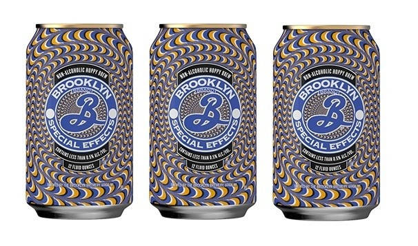 """Brooklyn """"Special Effects"""" Non Alcoholic Lager 12oz Can - Brooklyn NY"""