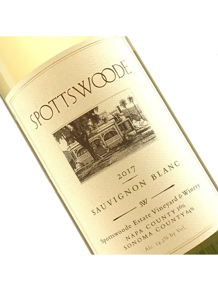 Spottswoode 2019 Sauvignon Blanc, 63%  Napa Valley, 37% Sonoma County