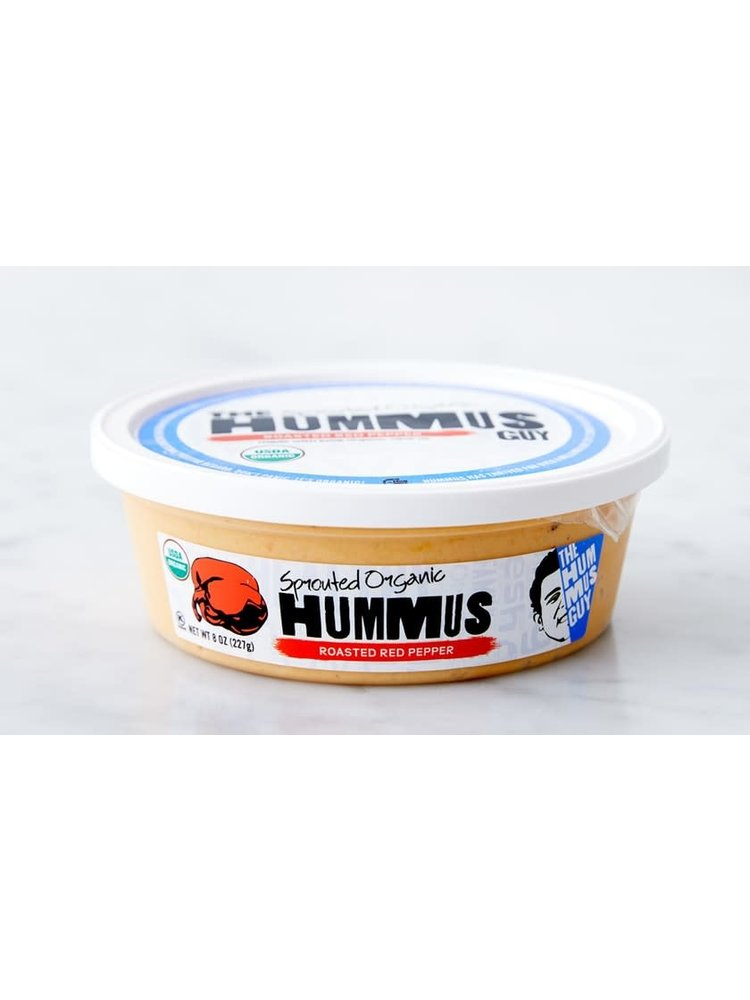 The Hummus Guy Organic Roasted Red Pepper Hummus