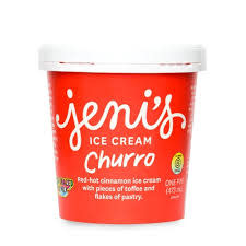 Jeni's Churro Ice Cream Pint, Ohio