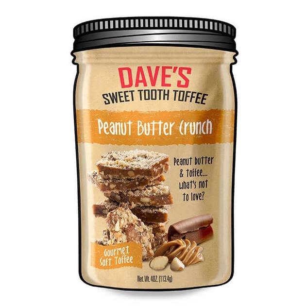Dave's Sweet Tooth Peanut Butter Crunch, 4oz, MIchigan