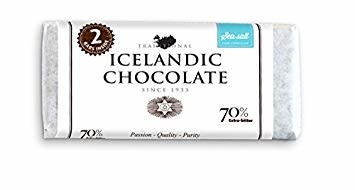 Noi Sirius 70% Dark Extra Bitter Icelandic Chocolate with Sea Salt, Reykjavik, Iceland  7 oz.