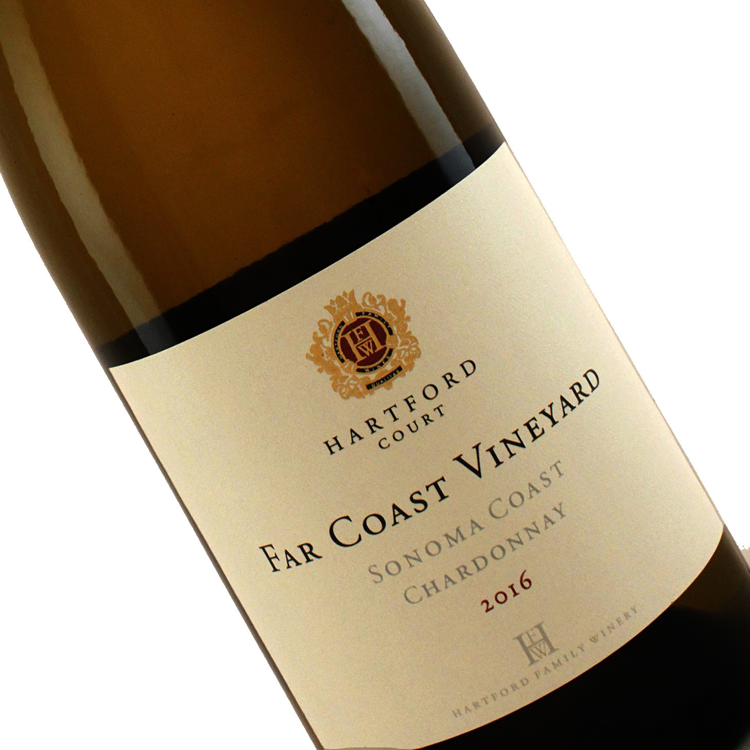 Hartford Court 2016 Chardonnay Far Coast Vineyard Sonoma Coast